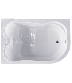 Акриловая ванна NORWAY RB331100 c каркасом 180x120*66 L