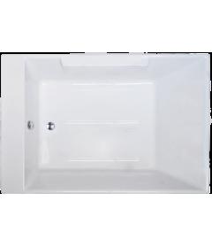 Акриловая ванна TRIUMPH RB665100 180х120х65 в сборе + смеситель