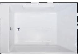Акриловая ванна TRIUMPH RB665100 180х120х65 с каркасом + смеситель