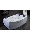 Акриловая ванна SHAKESPEARE RB652100 с каркасом 170х110х67 R