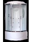 Душевая кабина RB 90BK2-T-CH с электричеством (прозрачное) 90x90x217