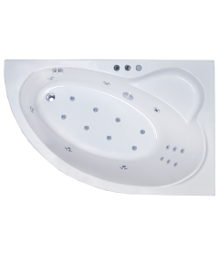 Гидромассажная ванна ALPINE DE LUXE 150x100x58R