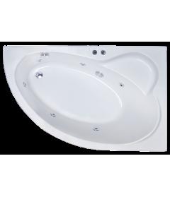 Гидромассажная ванна ALPINE STANDART 170x100x58R