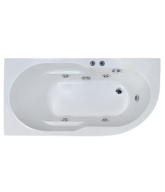 Гидромассажная ванна AZUR STANDART 170x80x60L