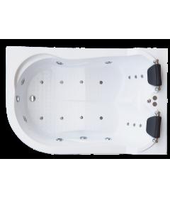 Гидромассажная ванна NORWAY DE LUXE 180х120х66 R