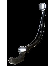Слив-перелив для ванны полуавтомат 60 см
